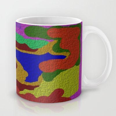 COLORFUL DESIGNER THROW PILLOWS  Mug by Robleedesigns - $15.00