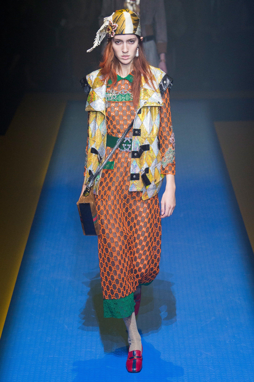 53303f6f441 Gucci Spring 2018 Ready-to-Wear Fashion Show | runway | ss 2018 ...