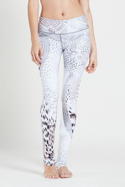 W.I.T.H.-Wear It To Heart WITH Women's Long Leggings Tirbal Cheetah: Bottoms