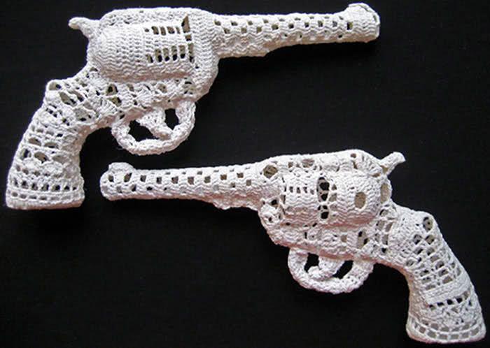 Окантовка связанные крючком