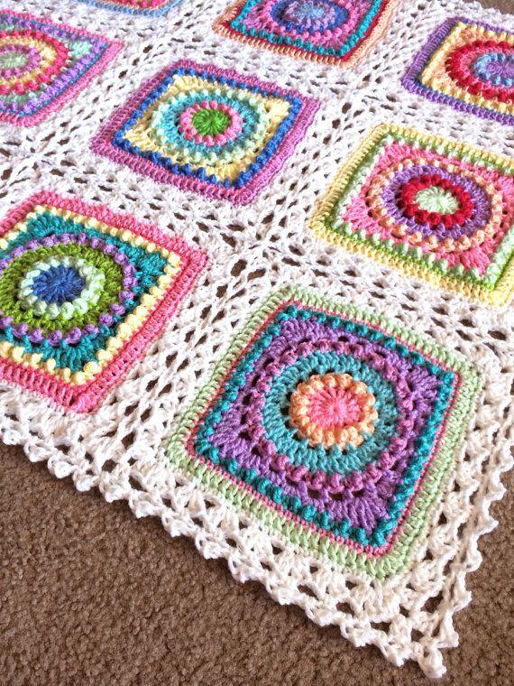 BabyLove Brand Textured Circles Blanket ♥ by BabyLoveBrandKids ...