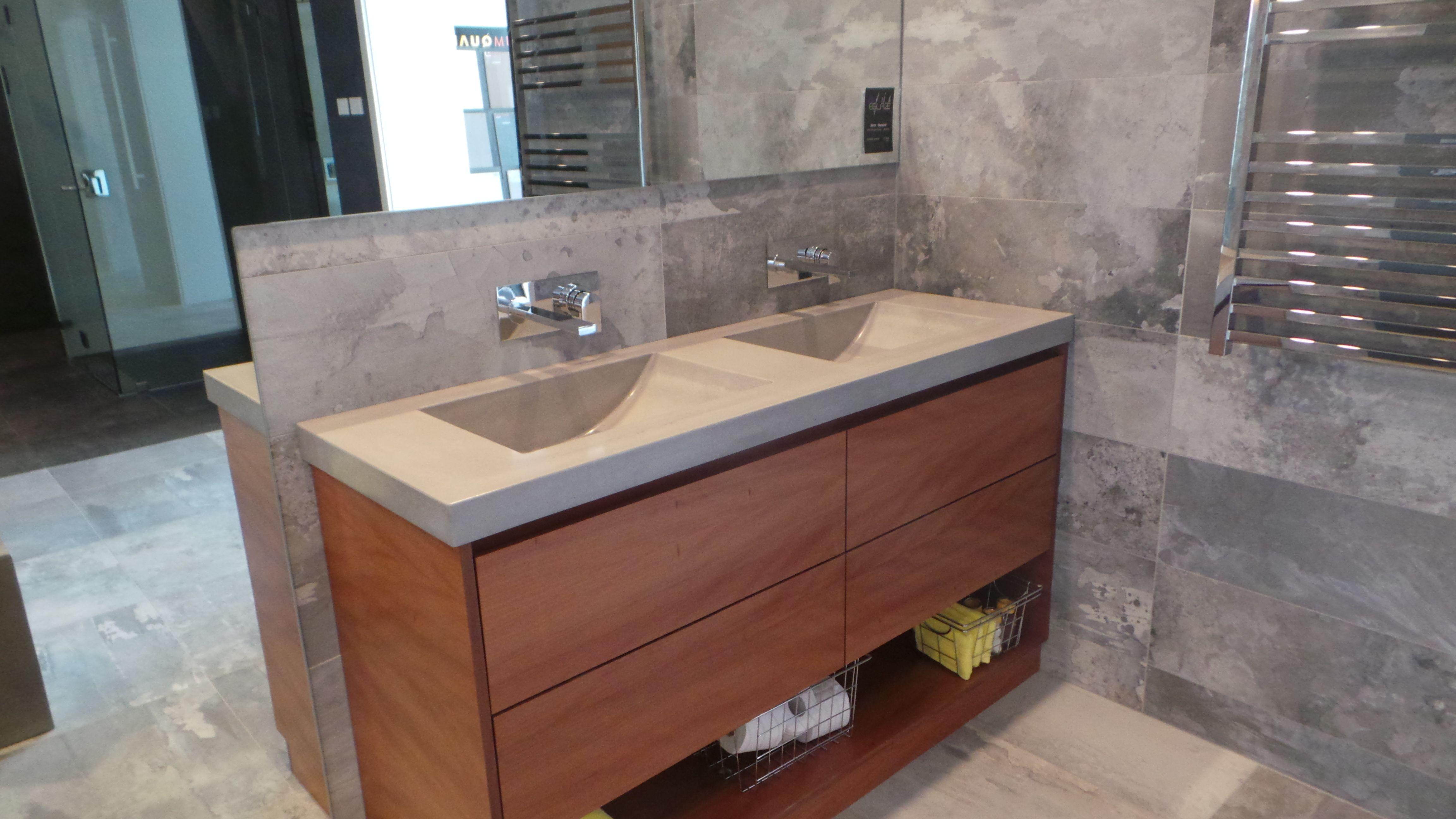 Pin On Concrete Bathroom Vanity Tops Baths Bowls