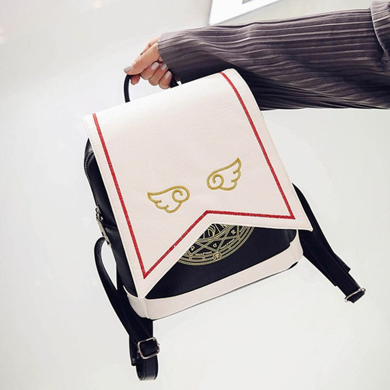 Photo of US $17.87 18% OFF|Anime Card Captor SAKURA Kawaii Small Backpack Cardcaptor Sakura Printing School Bags Lolita Women Backpack| |   – AliExpress