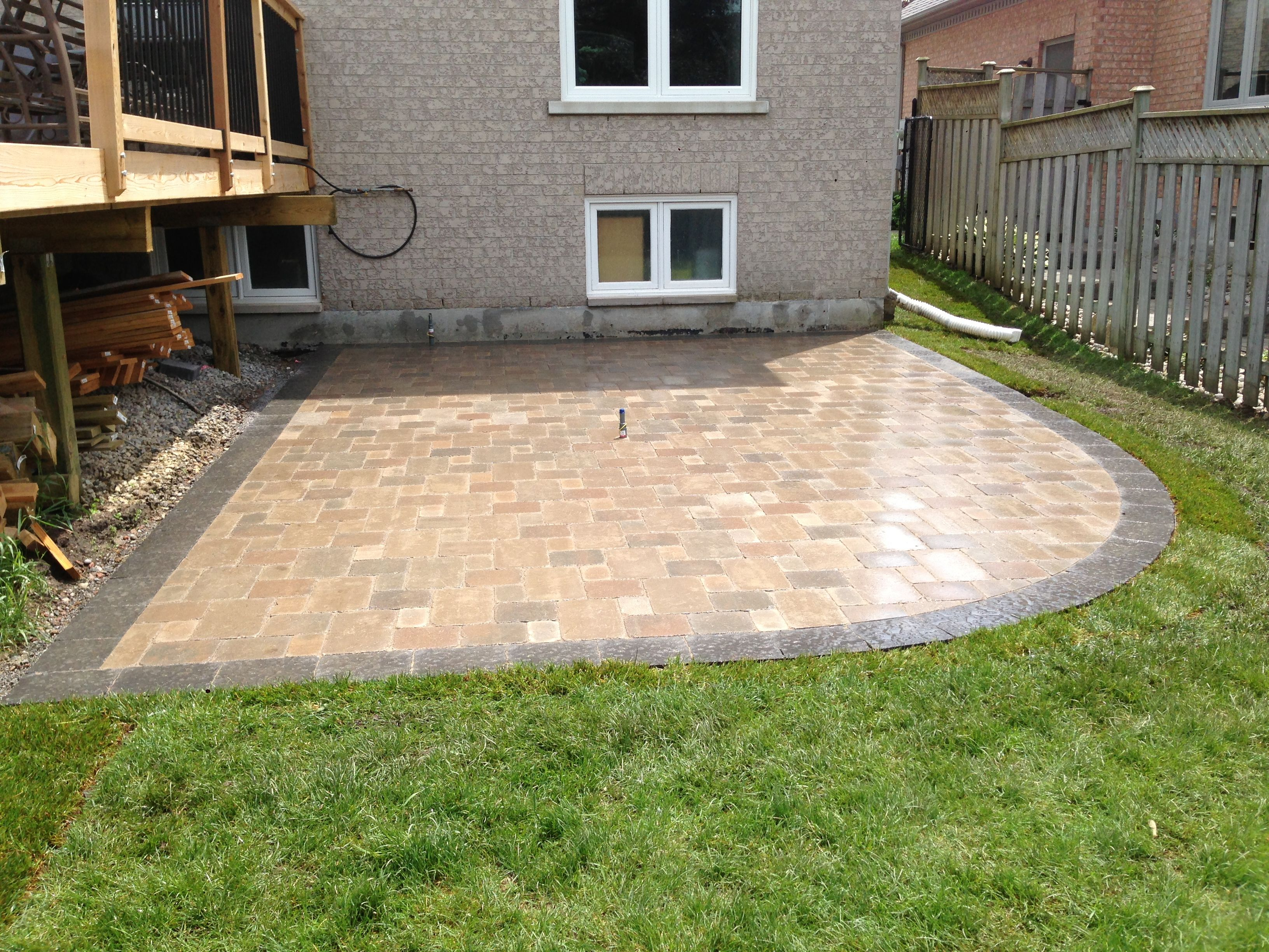 "Unilock ""brussels block"" patio | Patio, Outdoor decor ... on Unilock Patio Ideas id=46462"