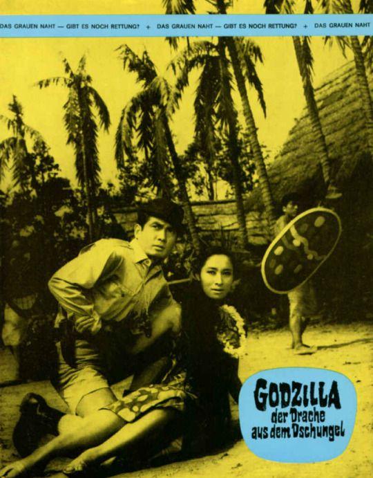 Godzilla der drache aus dem dschungel, Japan, 1966 @ kino-50er