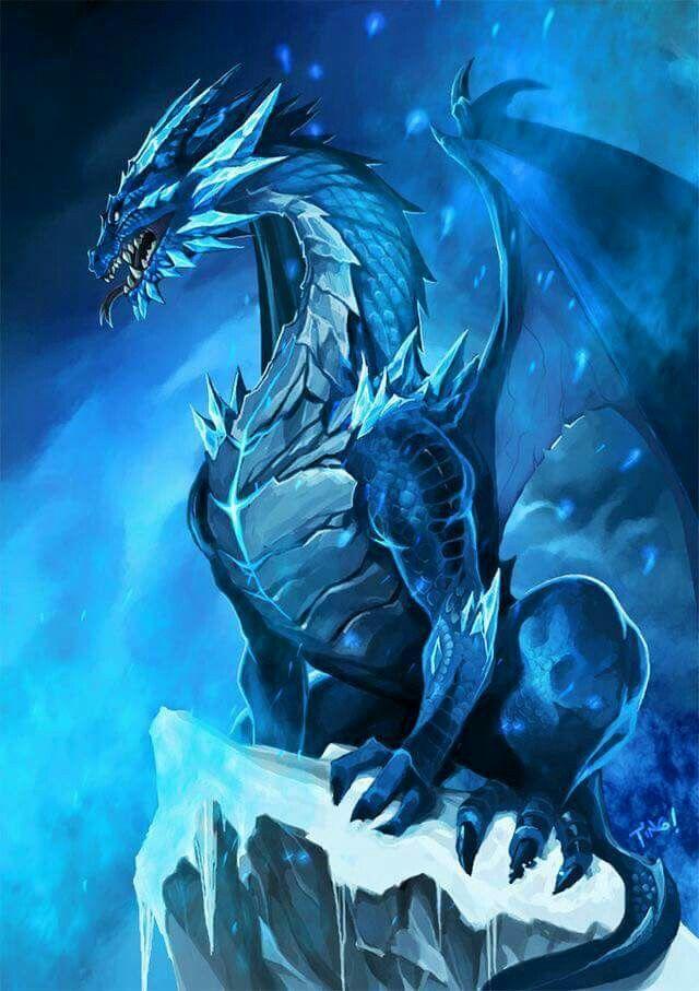 Blue Dragon | Dragon | Dragon, Dragon artwork, Dragon art