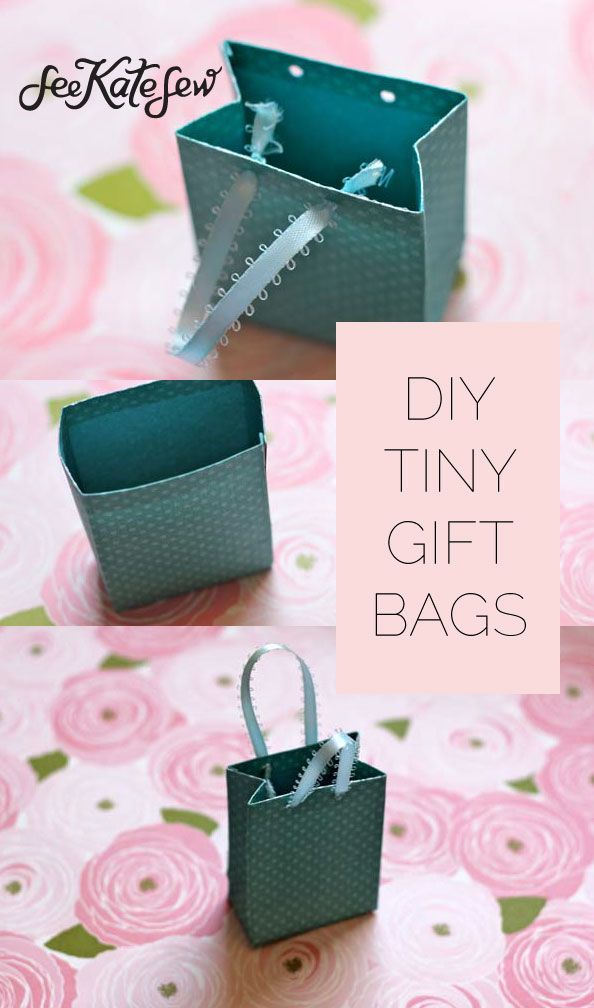 Tiny Gift Bags Gifts Diy