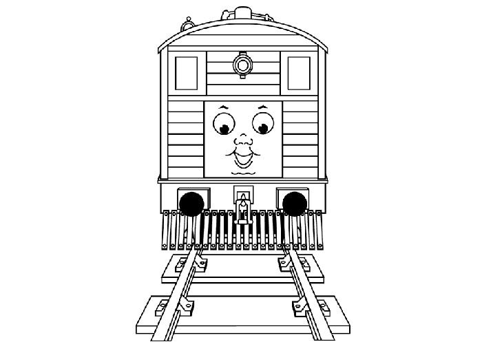 Thomas Toby Colouring Pages Train Coloring Pages Coloring Pages