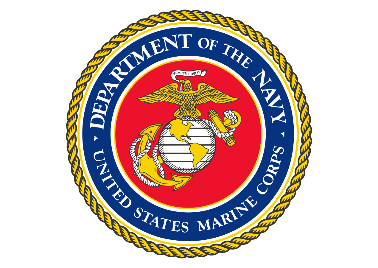 Department of The Navy Logo Vector Marine corps, Us