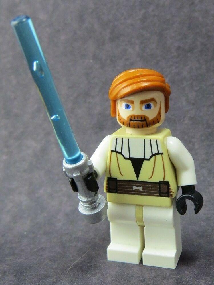 NEW LEGO STAR WARS Minifigure Obi Wan Kenobi Star Wars the Clone Wars 7931