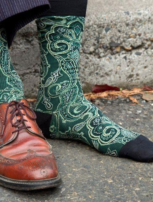 Paisley Cachemira Calcetines De Colores Medias Y Calcetines Moda Para Caballero