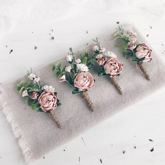 Blüpperosa Flower Handgelenk Korsage, Rosenquarz Braut Armband, Brautjungfer Korsage, Braut-Handgelenk Korsage, Hochzeiten #corsages