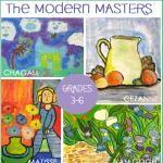 Modern Masters Art Lesson Plans