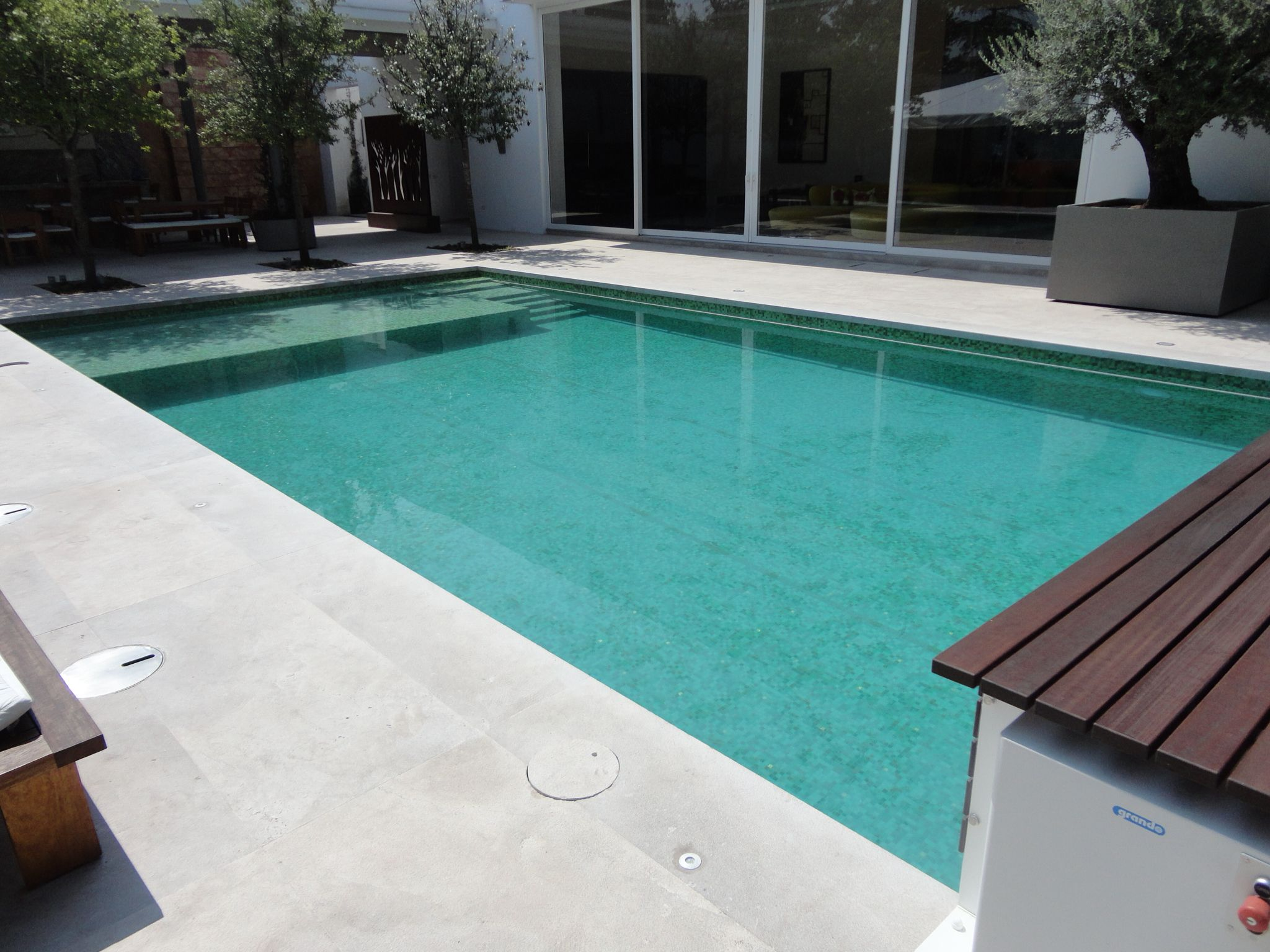 Jacuzzi Pool De Recreational Pool Piscina Residencial De 10 X 5 Con Asoleadero Y