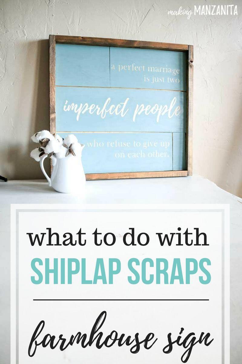 Easy Diy Shiplap Sign Use Up Leftover Shiplap Making Manzanita Shiplap Sign Shiplap Diy Shiplap