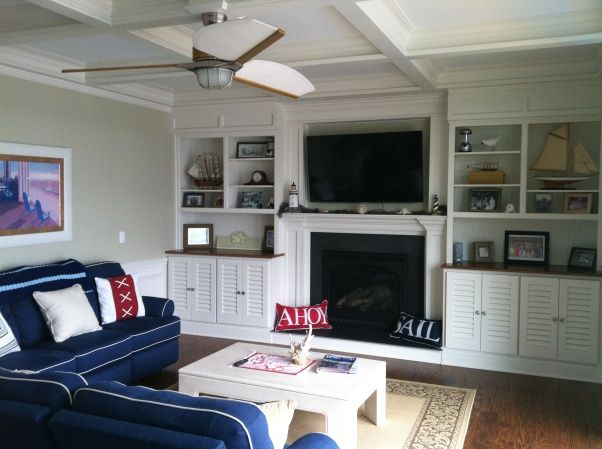 Nautical Family Room Ideas