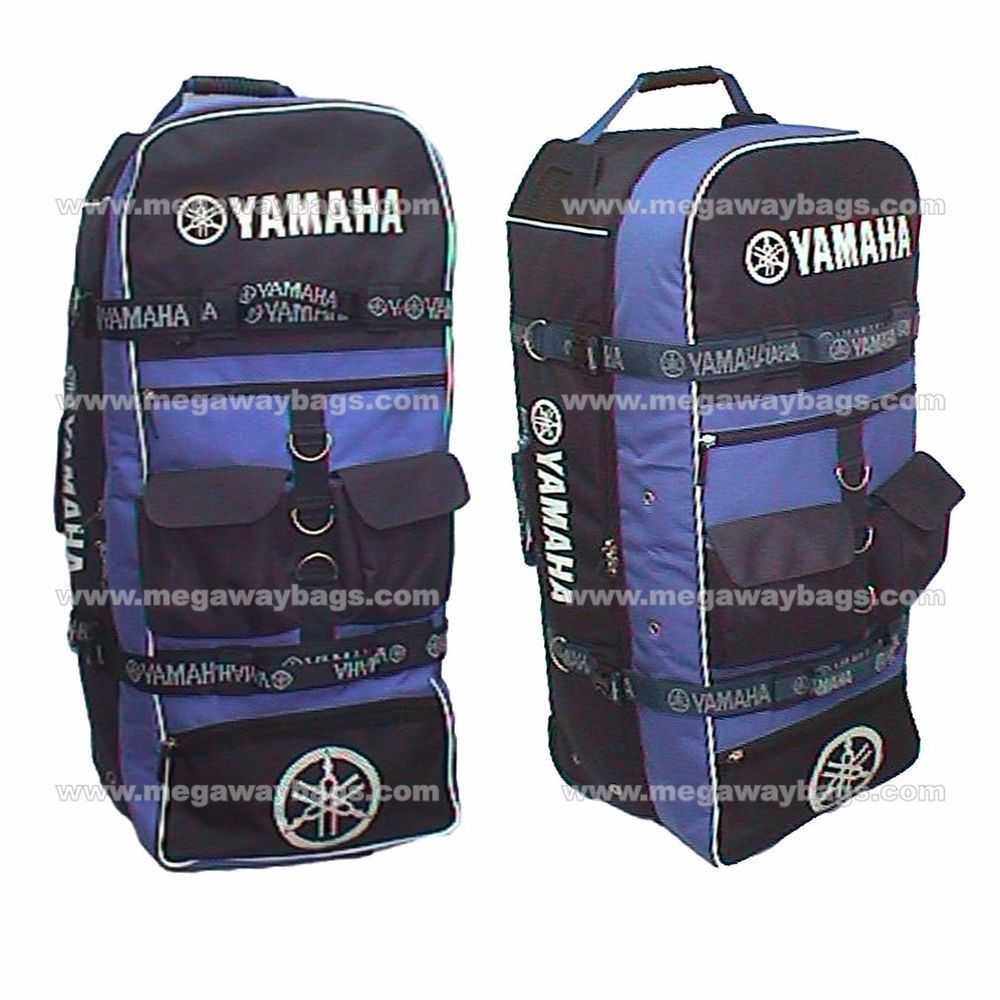 Yamaha Logo Duffle Travel Sport Gym Bag Backpack