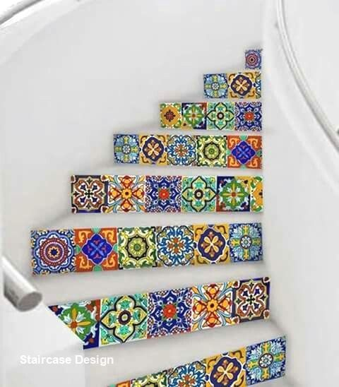 4 Times The Stair Decoration Would Make You Feel Amazed: Pin On New DIY Staircase Makover