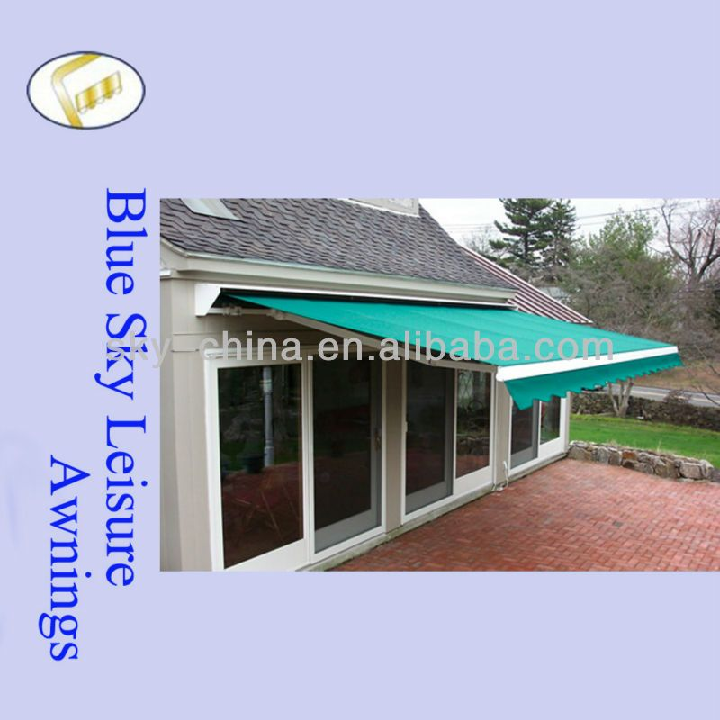 1 Easy To Install 2 Different Color Available 3 Elegant And Compact Appearance 4 Motor And Weather Sensor Are Avail Aluminum Awnings Jinhua Window Awnings
