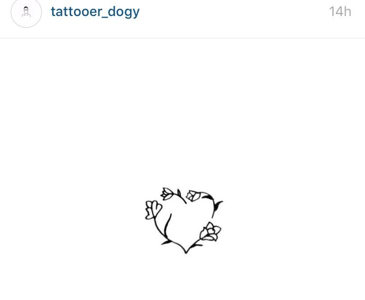 Dainty Flower Design Dainty Tattoos Tiny Tattoos Flower Tattoos