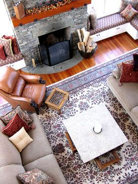 Rumford Fireplace Design Ideas, Pictures, Remodel, and Decor - page 7