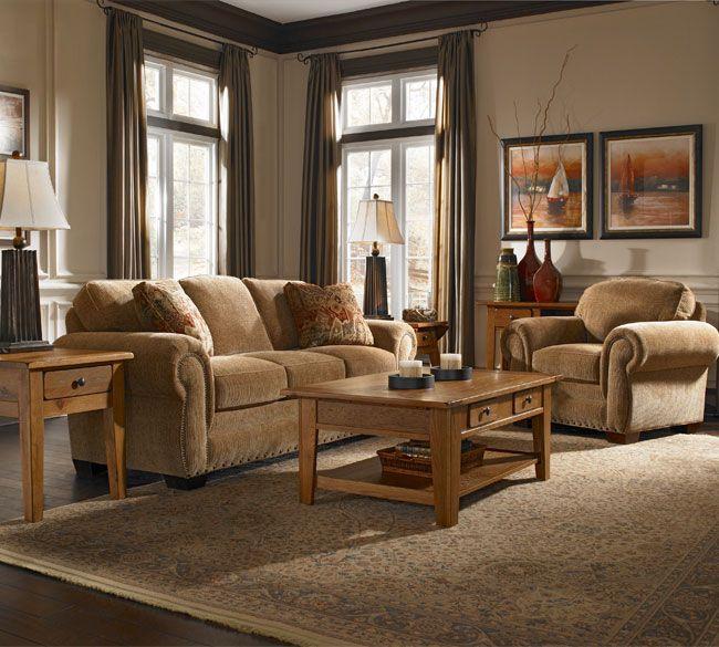 Broyhill Sofa Sets: Cambridge 5054 Sofa Group-IN STOCK