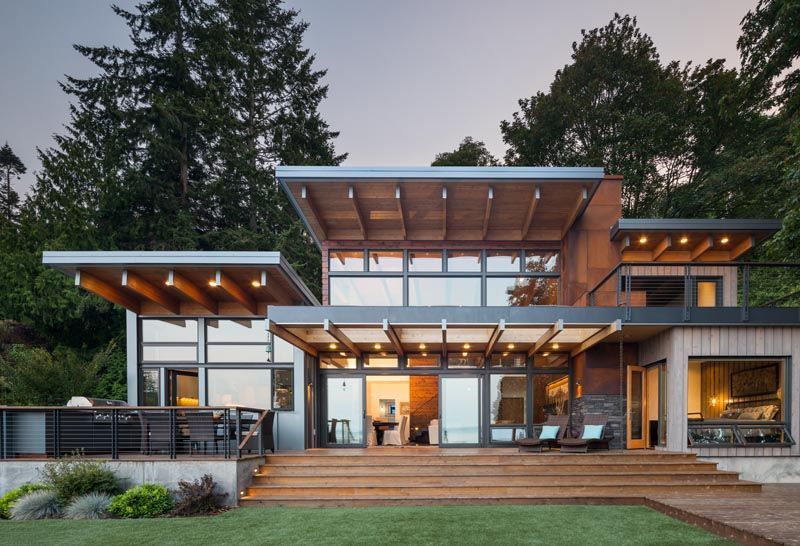 The Island Retreat By Coates Design In 2020 Pacific Northwest Style Northwest Style Architect Design