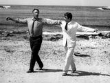 "Anthony Quinn and Alan Bates in ""Zorba the Greek"": Zorba 1964"