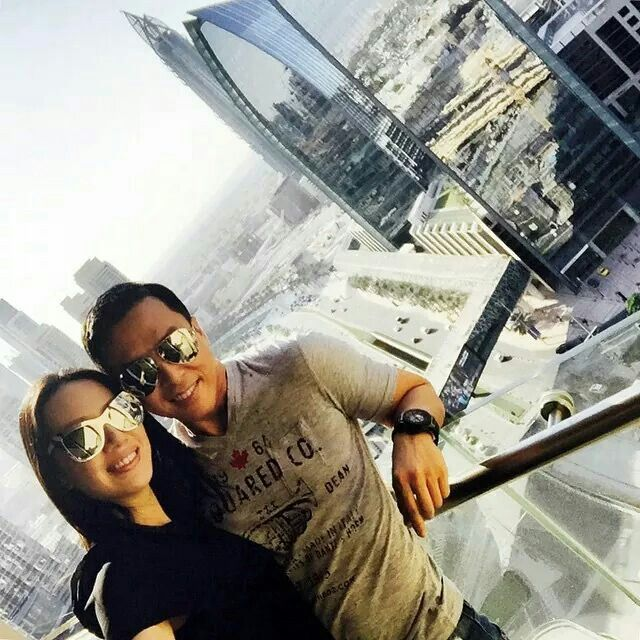 Donnie Yen and his Wife