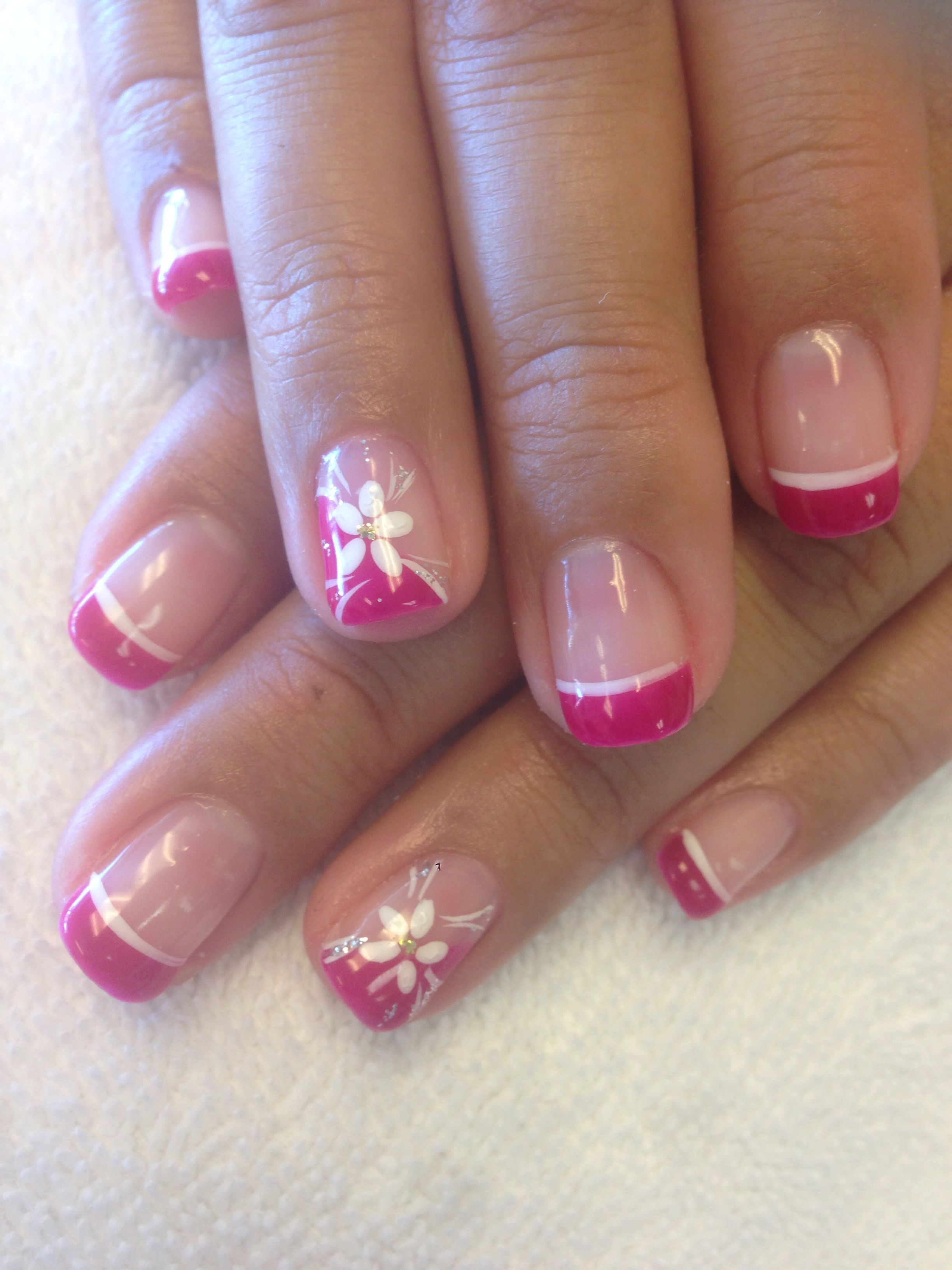 50 Nail Designs For Short Nails 2019 Gel French Manicure Gel Nail Art Designs Gel Nails French
