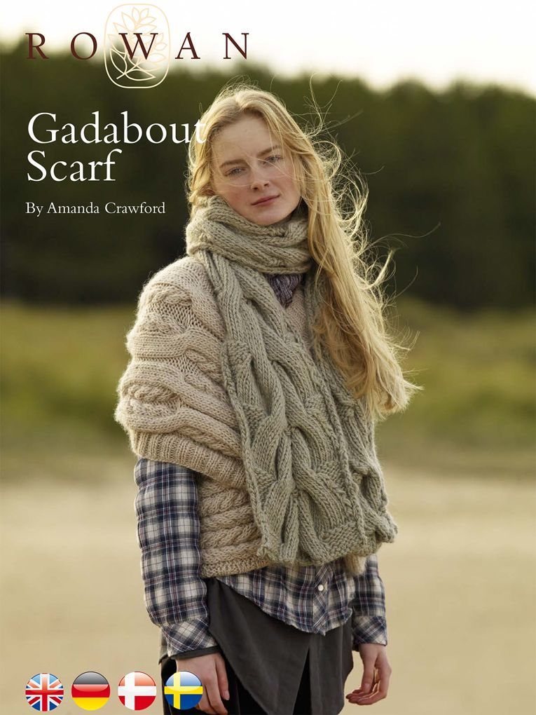Gadabout Scarf By Amanda Crawford - Free Knitted Pattern With ...