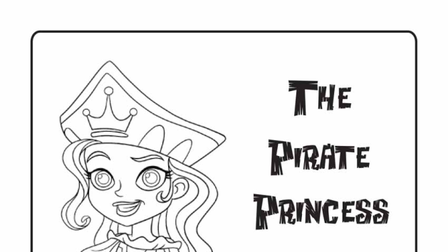 Pirate Princess Coloring Pages Disney Junior Put At Tables With Colors Princess Coloring Pages Pirate Coloring Pages Coloring Pages