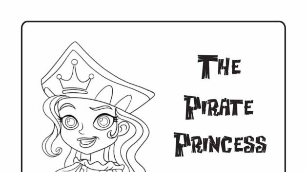 Pirate Princess Coloring Pages Disney Junior Put At Tables With Colors Princess Coloring Pages Pirate Coloring Pages Coloring Pages