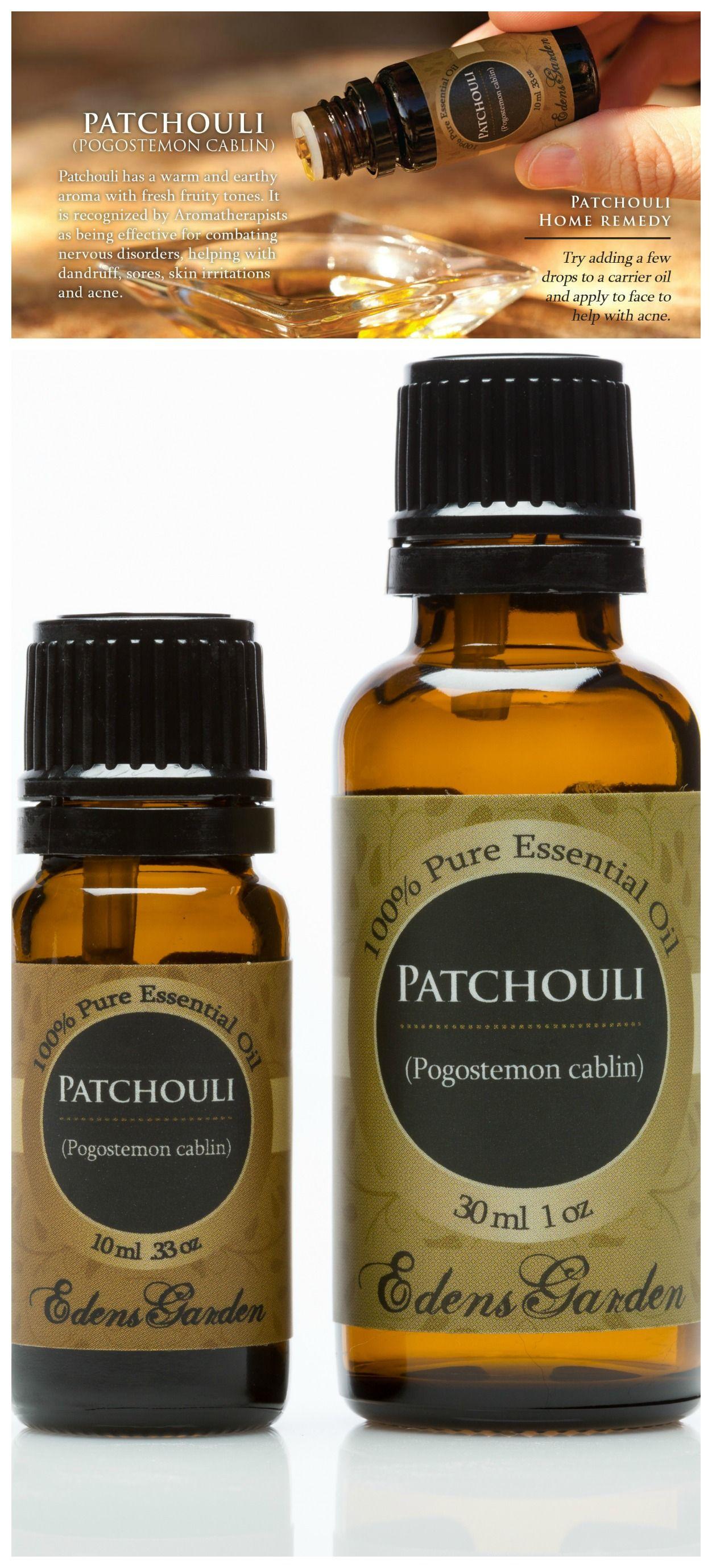 Patchouli Essential Oil has amazing skin care properties