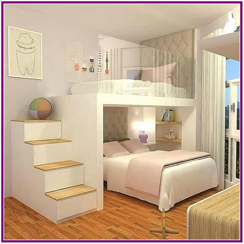 26+ fantastic small apartment bedroom college design ideas and decor 00007
