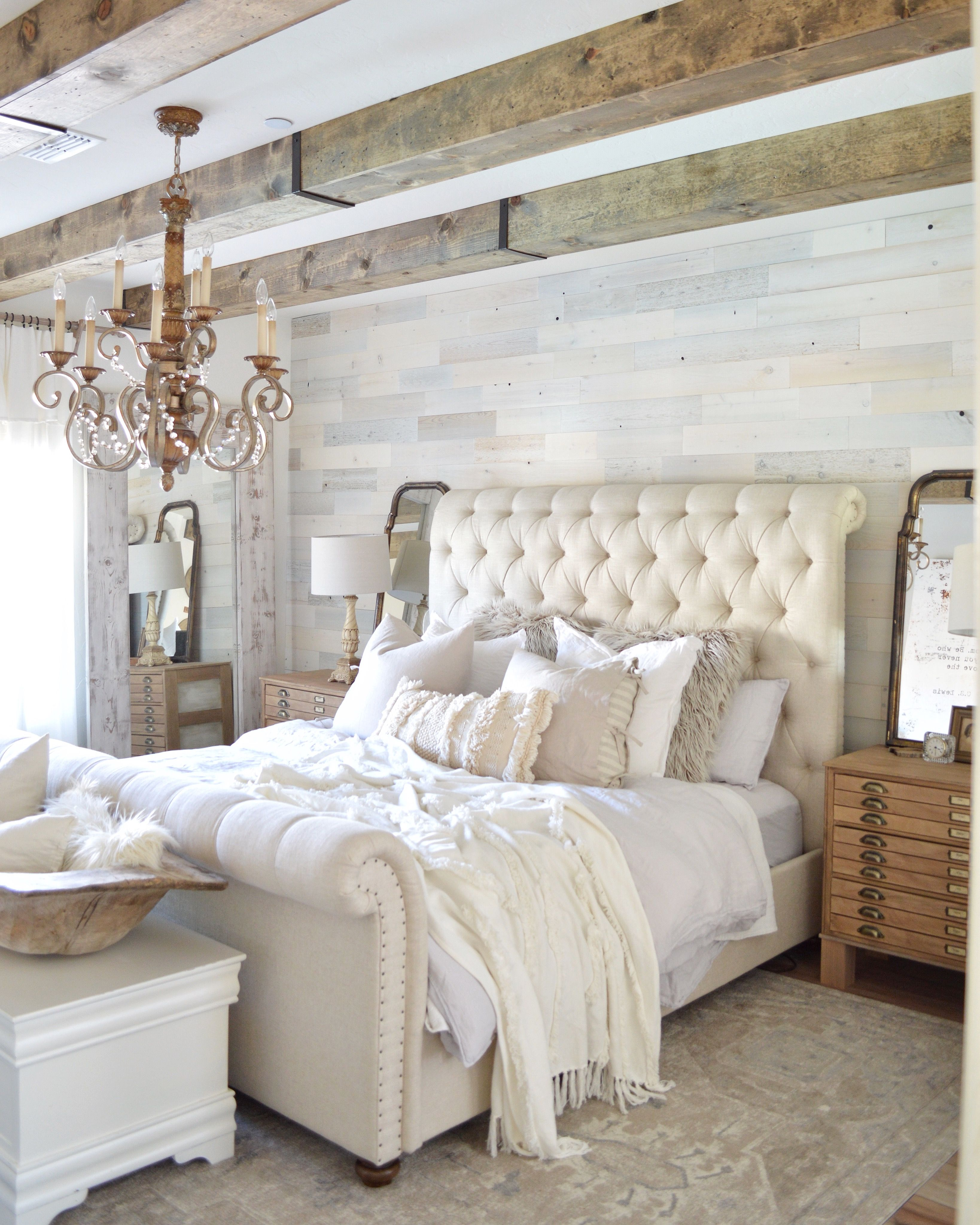 Ashleyfurniture Com Bedroom Sets: DIY Faux Wood Beams