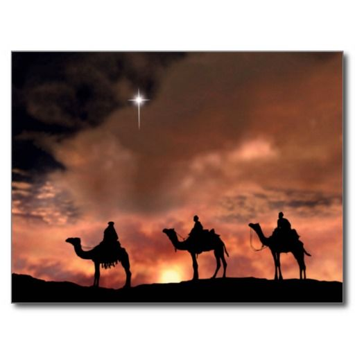 Nativity Scene Gifts for Christmas Holiday Postcar