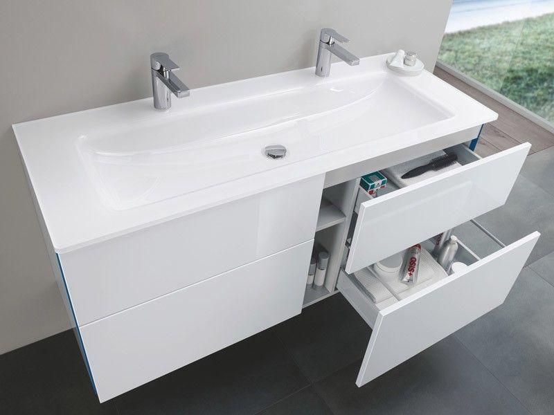 Photo of Sanipa 3way Doppelwaschtisch mit Waschtischunterschrank