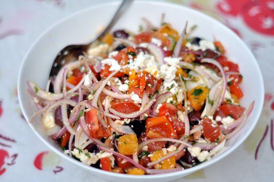 Tomato salad with feta