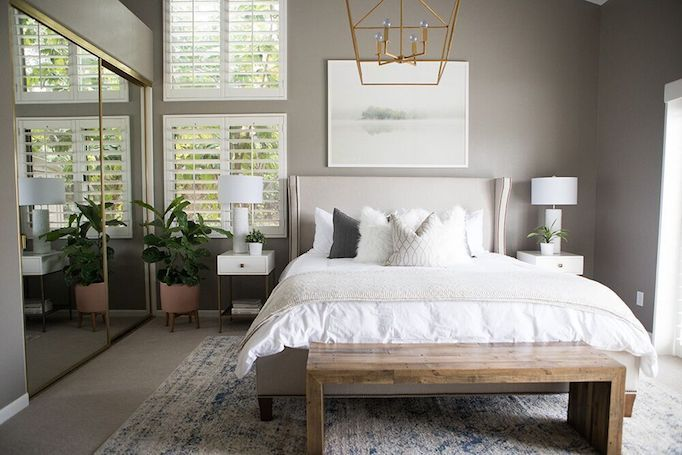 Kailee Wright Master Bedroom Revealbecki Owens With