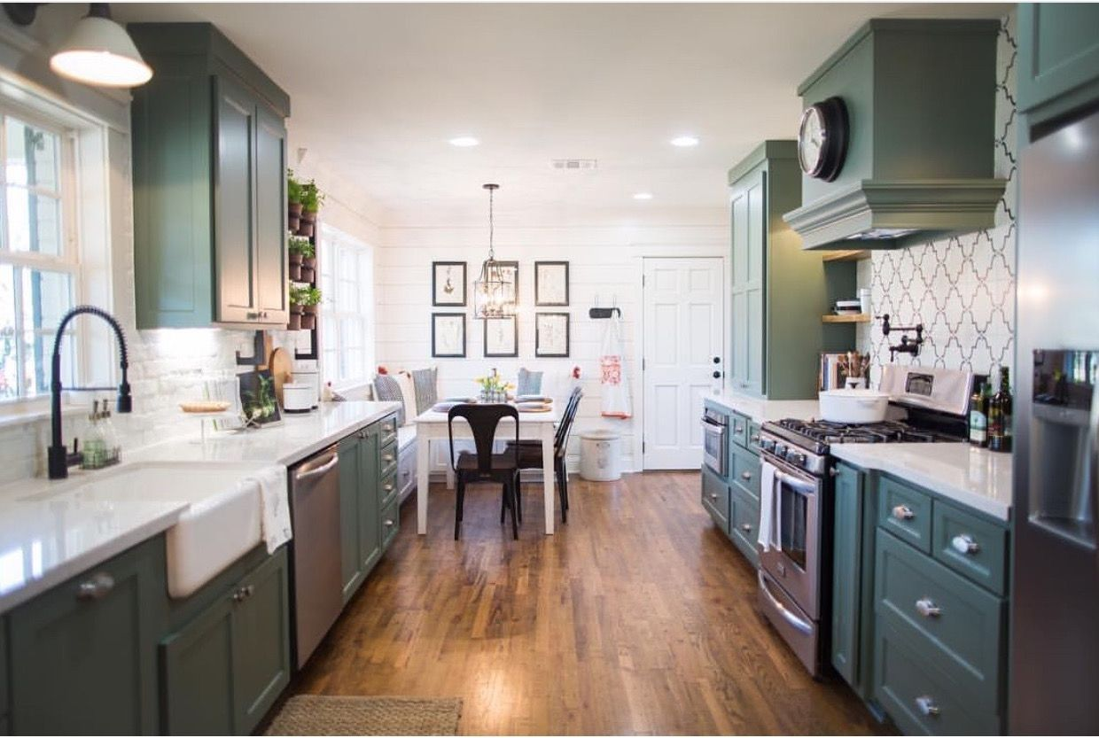 Pin by The Gold Hive on KITCHEN Fixer upper kitchen
