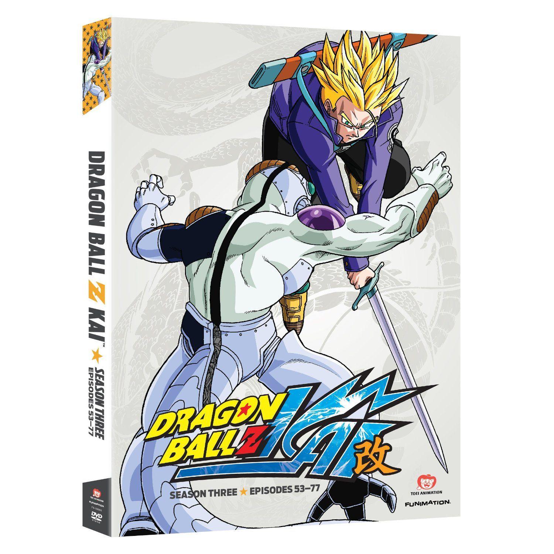 Dragon ball z kai season 3 available now on dvd dragon