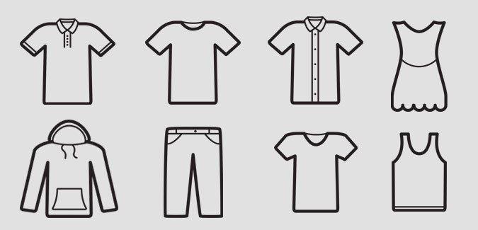 Blank Clothes Templates Blank Apparel Templates