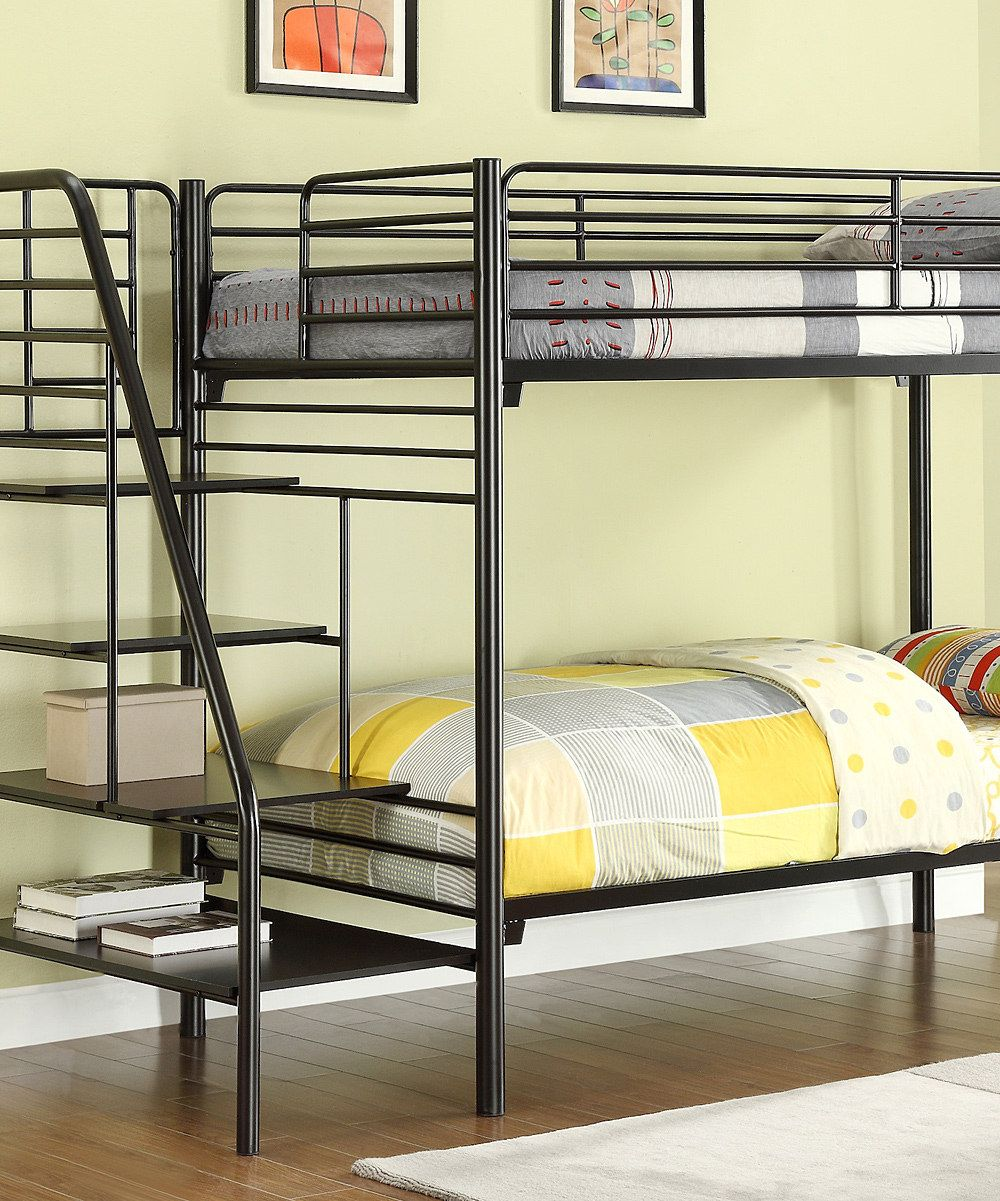 Take a look at this Metal Stairway Bunk Bed on zulily