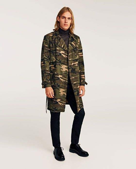 Styl3z Camouflage Image Of Coat Hottest Trench From 2 Zara Guide xq07B0nS1E