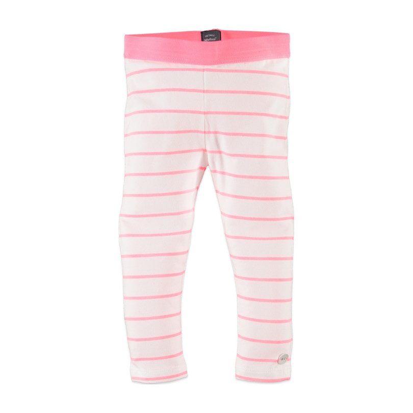 Striped Leggings, Neon Pink #stripedleggings