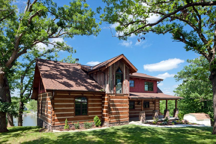 Source: Stonemill Log & Timber Homes Picture Gallery