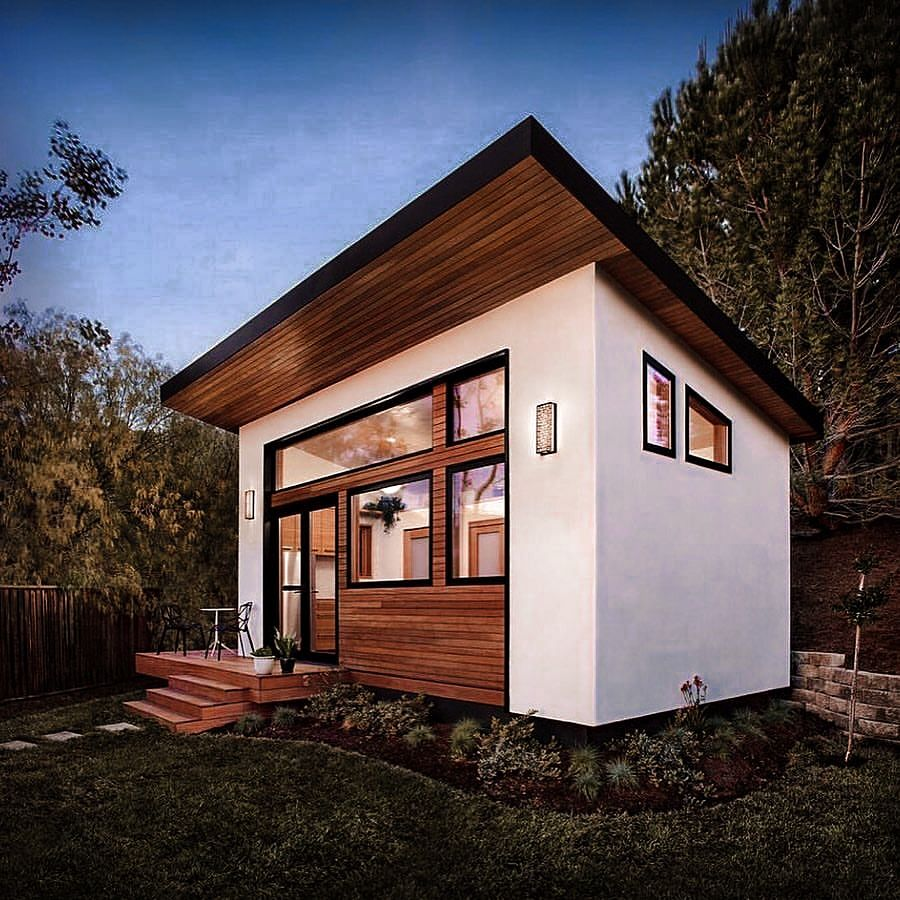 42 Best Tiny Houses Design Ideas For Small Homes 2020 Backyard Guest Houses Tiny House Design Best Tiny House