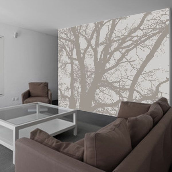 papier peint panoramique arbre zen papier peint. Black Bedroom Furniture Sets. Home Design Ideas