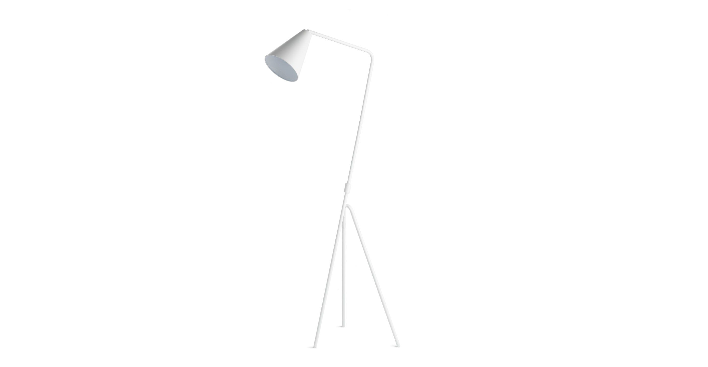 overstock home floor lamps shipping lamp product campeau today gloss garden free white